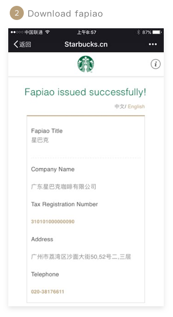 Download fapiao