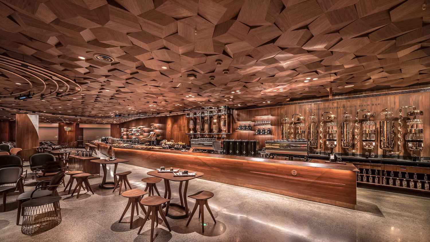Starbucks Opens State Of The Art Premium Reserve Roastery